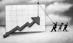 Экономический спад в России замедляется