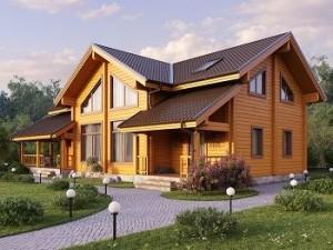 «Дом Эксклюзив»: строительство домов из клееного бруса «под ключ»