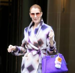 Селин Дион продолжает поражать элегантностью своих нарядов