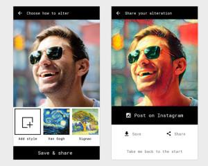 Инновационное приложение Alter создаст из обычного фото настоящее произведение искусства