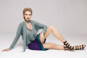 Русская супермодель Наталия Капчук снялась в фешн-стори для летнего номера журнала InStyle Moldova