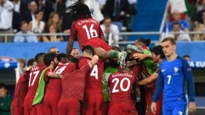 Сборная Португалии смогла выиграть Евро-2016 без Роналду
