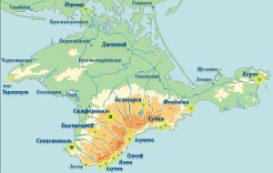 Крым присоединился к Южному федеральному округу