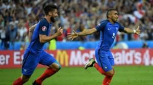 5 голов французской сборной вывели ее в полуфинал Евро-2016