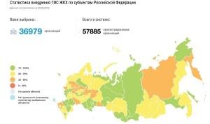 Интеграцию с «ГИС ЖКХ» завершили более 580 информационных систем