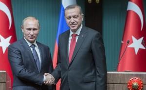 Реджеп Эрдоган и Владимир Путин встретились для восстановления российско-турецких отношений