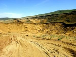Под Клином обнаружен нелегальный песчаный карьер