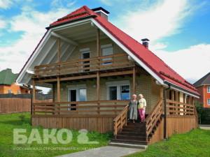 Компания «Бако» начала производство новой серии домов «Вилла»