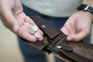 41% россиян жалуются на бедность