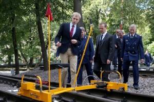 Председатель Правительства РФ Д.А. Медведев посетил ведущий транспортный университет страны