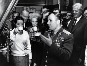 Датская пивоварня Carlsberg вновь принимала гостей из космоса