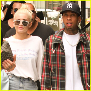 Кайли Дженнер и Тайга вместе ходят на шоппинг