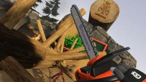 Для фанатов цепной пилы Husqvarna выпустила виртуальную игру