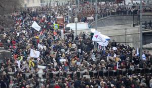 Россияне не верят в силу массовых протестов