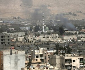 Боевики обстреляли посольство России в Сирии