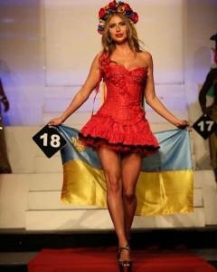 Мисс Бикини Мира стала украинка Олеся Крайнюк