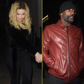Мадонна и Идрис Эльба вместе посетили вечеринку в Лондоне