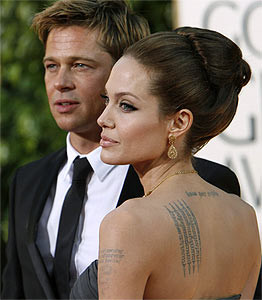 Брак Брэда Питта и Анджелины Джоли дрогнул под натиском воспитания их шестерых детей
