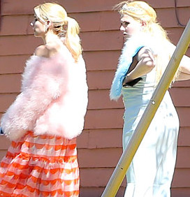 «Королевы крика» были замечены в Лос-Анджелесе