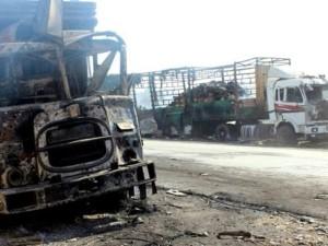 Обстрел конвоя ООН в Сирии был признан инсценировкой