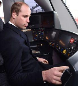 Принц Уильям во время вождения поезда ощущал себя «маленьким мальчиком»