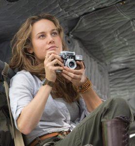 Бри Ларсон гордится тем, что играет журналистку в фильме «Конг: Остров черепа»